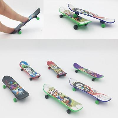 SU Finger Board Truck Mini Skateboard Toy Boy Kids Children Young Kids_Gift SALE