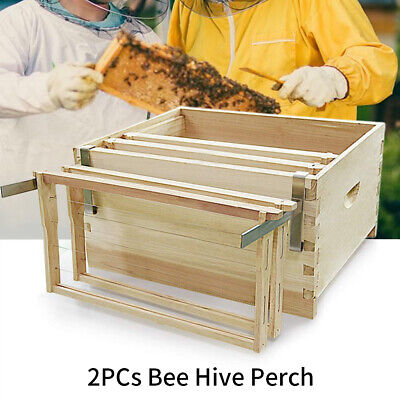 2pcs Frame Holder Home Space Saving Bee Hive Perch Durable Beekeeping Tools Diy