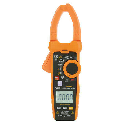 Peakmeter Pm2128 Handheld Digital Acdc Voltage Current Clamp Meter True Rms