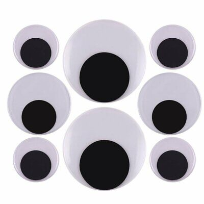 -  2 Inch 3 Inch 4 Inch Large Googly Wiggle Eyes with Self-Adhesive