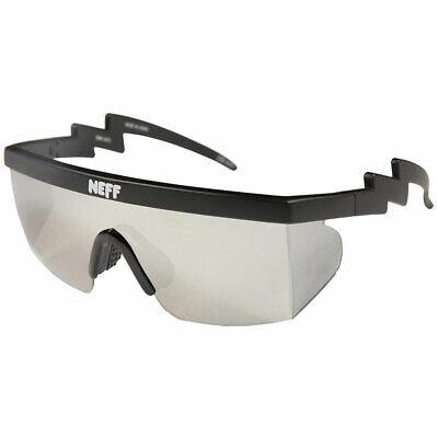 Neff Men's Brodie Single Lens Shades Sunglasses Black Eyewear Beach (Beach Eyewear)
