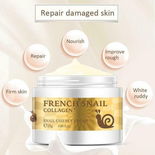Snail Face Cream Anti Wrinkle Moisturizer Nourishing Collagen Essence Day Cream