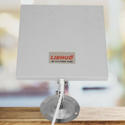 2.4Ghz 14dbi Antenna Panel Directional WiFi/ Router Flat Indoor/ Outdoor 2.4GHz 2,4 Ghz Flat Panel