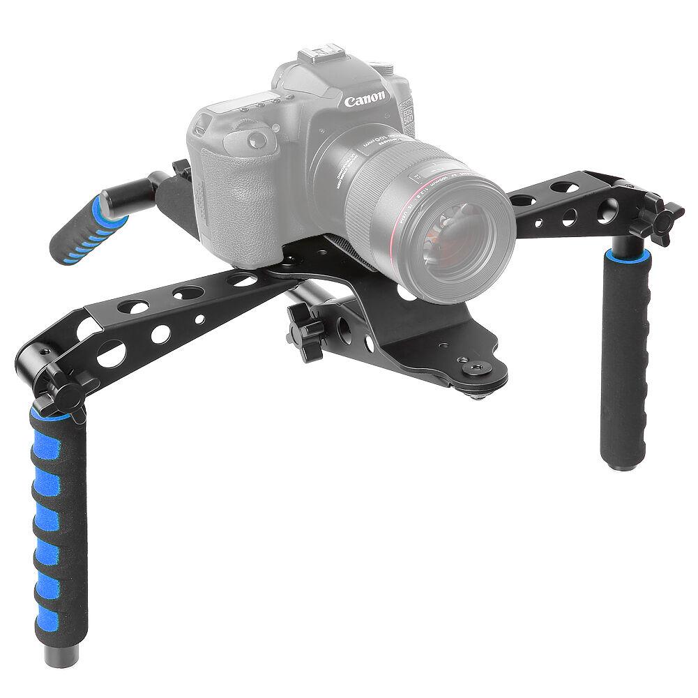 Neewer Aluminium Alloy Foldable DSLR Rig Movie Kit Film Maki