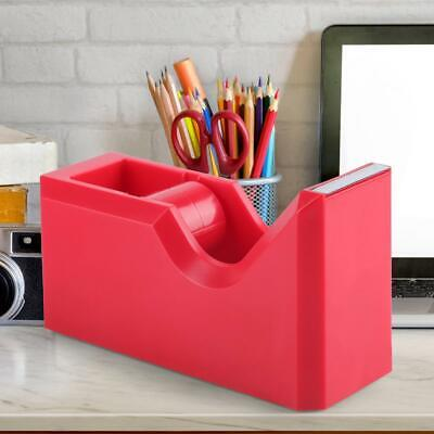 Multi Functional Tape Dispenser Stationery Adhesive Tape Cutter Office Supplies