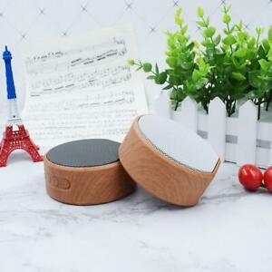 Wood Bluetooth Speaker Portable Outdoor Wireless  Bluetooth Sound Box Support AUX TF Card for iPhone Android