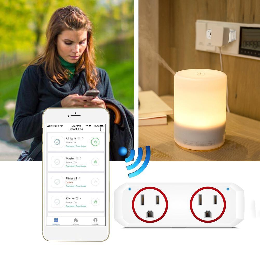 APP Remote Control Home WiFi Smart Power Socket Timer Switch