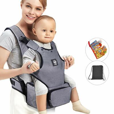 Baby Carrier with Hip seat and Baby Diaper Bag, used for sale  Shipping to South Africa