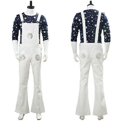 Rocketman Cosplay Elton John Costume Halloween Adult Suit Carnival Bib Pants](Elton John Costume Halloween)