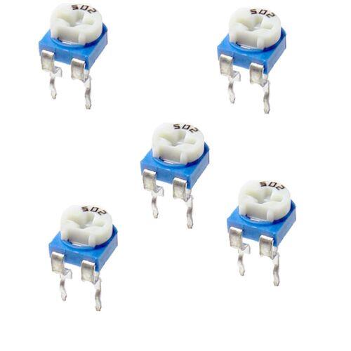 50Pcs 5K 502 Adjustable Resistor Adjustable Resistor si