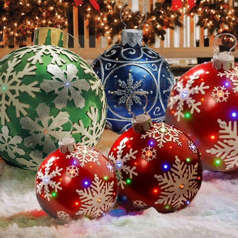 CHRISTMAS Xmas INFLATABLE BALL PARTY OUTDOOR DECORATION BALL 30%Off(24H)