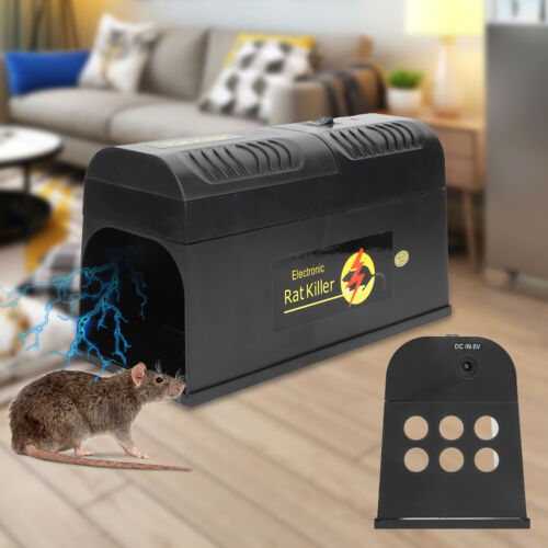 Electronic Mouse Trap Victor Control Rat Killer Pest Mice El