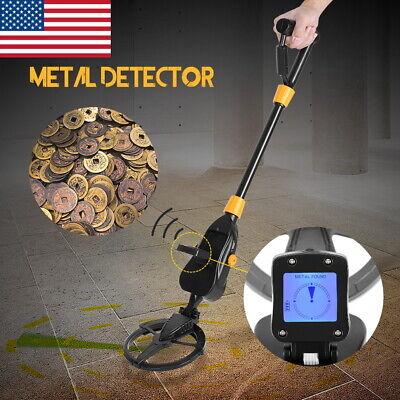 Waterproof Metal Detector Gold Digger Deep Sensitive Search Hunter w/LCD Display