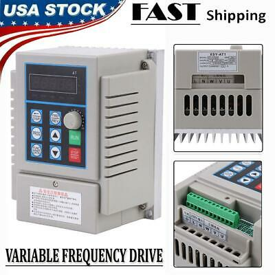 0.75kw Vfd 5a 220v Single Phase Speed Variable Frequency Drive Inverter