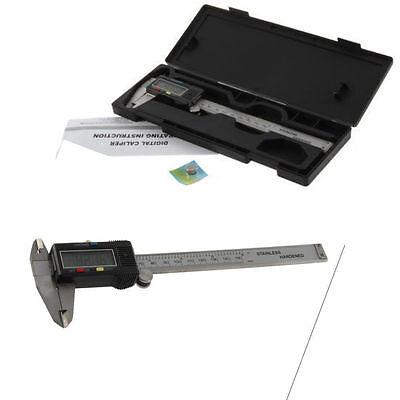 6 Inch/150mm Digital Electronic Gauge Stainless Steel Vernier Caliper MicrometHL