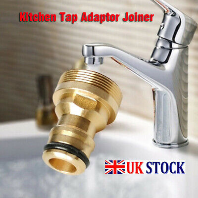 Kitchen Tap Adaptor Joiner Universal Tap To Garden Hose Pipe Connector Mixer