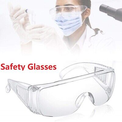 Safety Glasses Eye Protective Science Goggles Anti Fog for DIY Work Grinding US