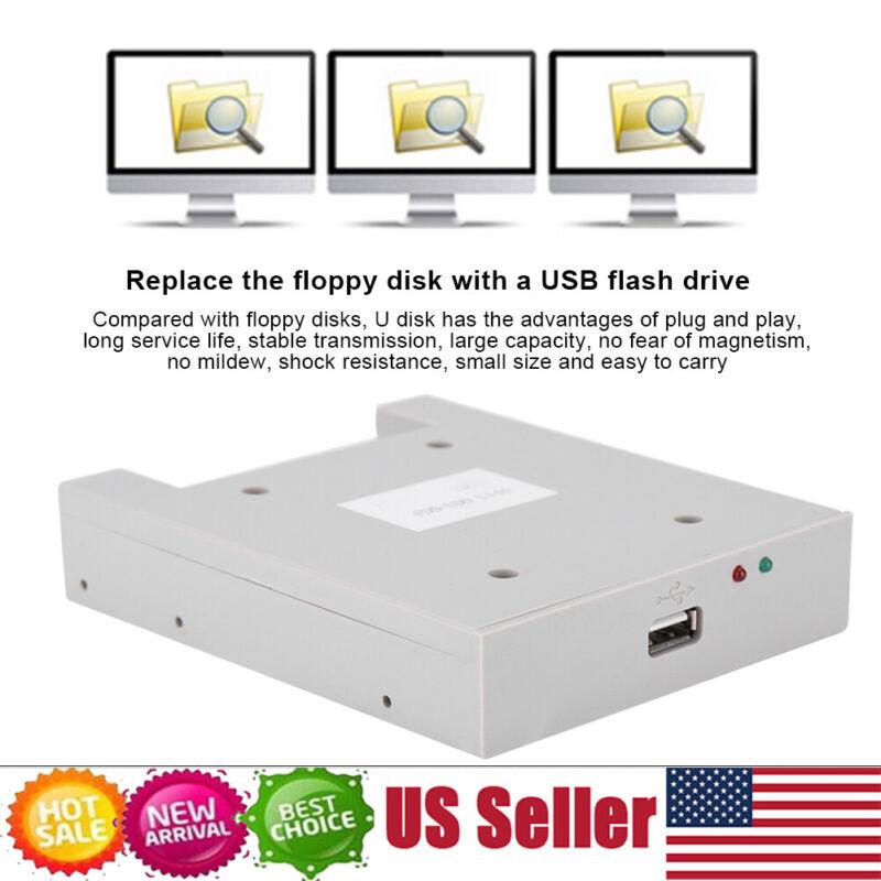 "3.5"" Floppy Disk Drive to USB Emulator Simulation For GOTEK Musical Equipment US"