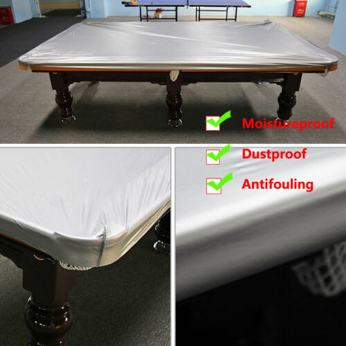 8Ft Waterproof Billiard Table Pool Cover PVC Cloth Dust Dirt Moisture Protector