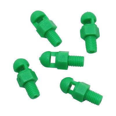 200pcs 360 Degree Automatic Refraction Micro Misting Nozzle Plastic Sprayer Head