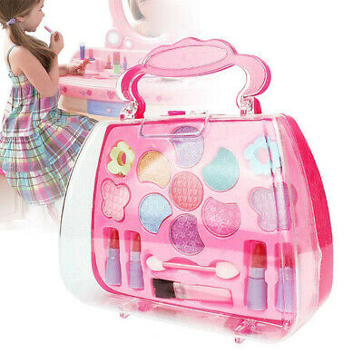Pretend Play Cosmetic Makeup Toy Set Kit for Little Girls Ki