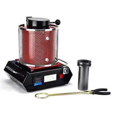 Gold Schmelzofen Alloy 3KG Furnace Kiln Schmelzen Ofen Melting 220V