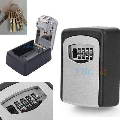 Schlüsselsafe Schlüsselbox Schlüsseltresor Keysafe Keybox 4 Digit Zahlencode NEU