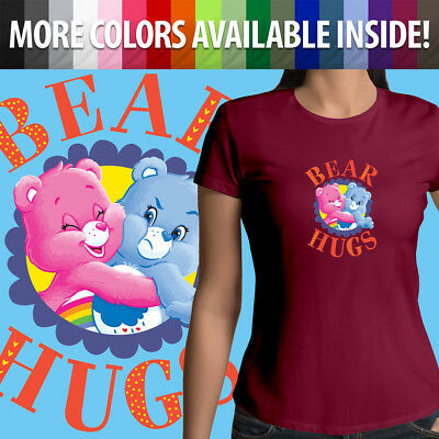 Care Bears Cheer Grumpy Bear Hugs Best Friends Fun Girls Juniors Tee T-Shirt Top