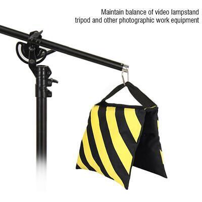 Bolsa de arena de contrapeso para trípode pies de estudio Rayas amarillas...