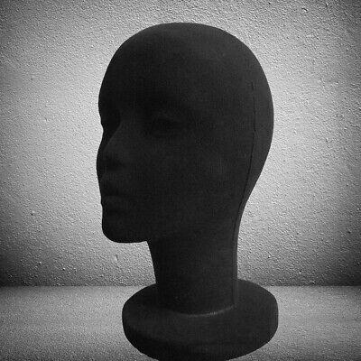 Male Mannequin Styrofoam Foam Manikin Head Wig Glasses Hat Display Stand