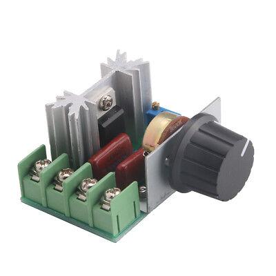 High-power 2000w 25a 220v Ac Scr Dimmer Voltage Regulator Motor Speed Controller