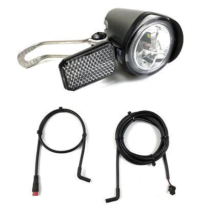 E-Bike Faro Bicicleta Eléctrica Faro Super Brillante LED Frontal Luz Foco