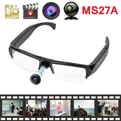 MS27A 1080P Video Recorder Camera Sunglasses Recording Eyewear Glasses Camera LJ, used for sale  Shipping to Nigeria