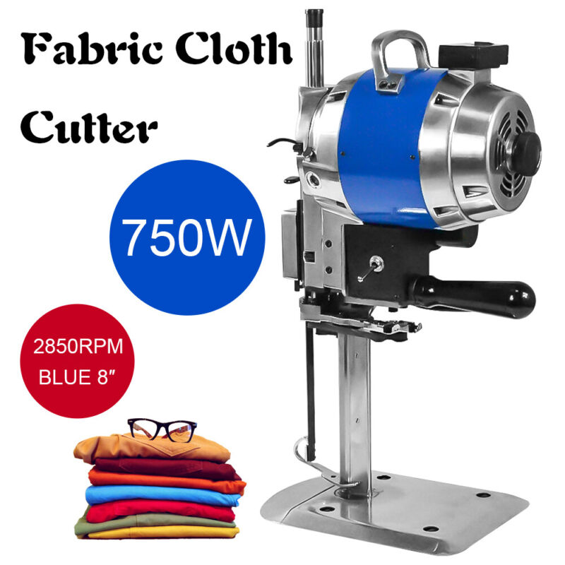 """Electric Cloth Cutter 8"""" Fabric Leather Cutting Machine Auto Sharpening Clothes"""