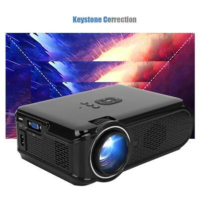8GB WiFi 4K 3D 1080P Android 6.0 1600Lumens LED Projector Home Theater Bluetooth