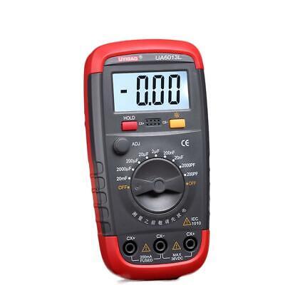 New Ua6013l Capacitor Digital Auto Range Lcd Monitor Capacitance Tester Meter Ga