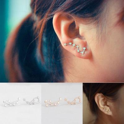 USA Pair of Earrings Little Dipper Big Stars Constellation Zodiac Ursa Minor 2x