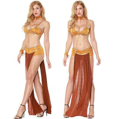 n Leia Sklavin Miss Manners Nightwear Kleid BH Cosplay Sets (Prinzessin Damen-kostüm)