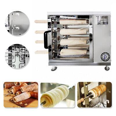 Commercial Electric Hungarian Kurtos Kalacs Chimney Cake Oven Maker 110v