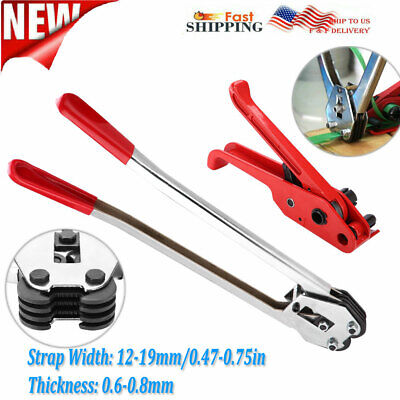 Heavy Duty Petpp Manual Strapping Tools Packing Machine Set Tensionersealer
