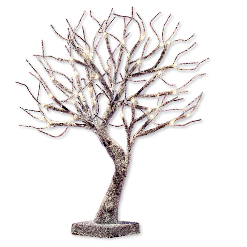 Frosted LED Lighted Tabletop Tree Branches Decoration