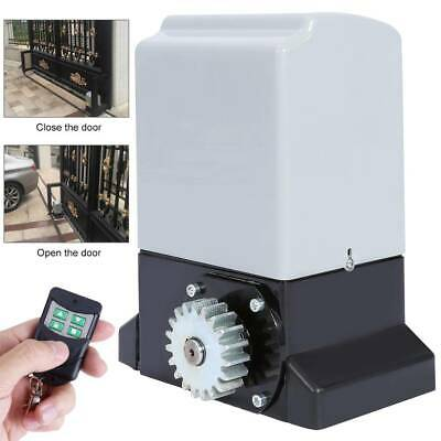 Heavy Duty Electric Sliding Gate Opener Automatic Motor with Remote Control 750W