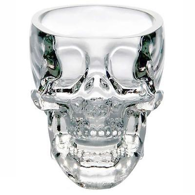 New Crystal Skull Head Vodka Whiskey Shot Glass Cup Drinking Ware Home Bar ZH ZH