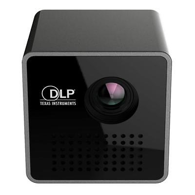 """Portable Home Projector 1.8"""" DLP Micro USB Smart Beam Projector HD Video Theater"""