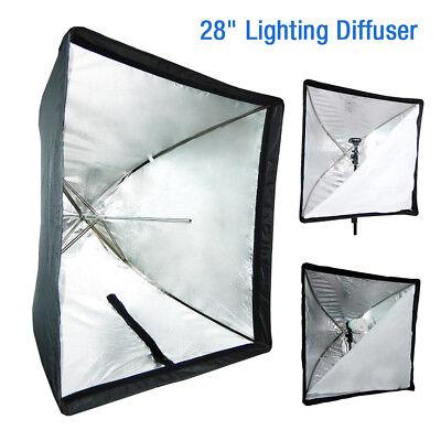 New Portable 70x 70cm Umbrella Softbox Reflector Speedlight Photo Umbrella