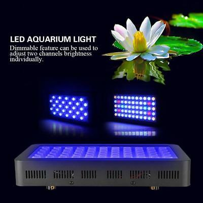 Dimmable 165W LED Aquarium Grow Light For Fish Tank Coral Plant Marine Lamp HT