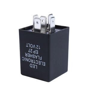 12V 5Pin LED Flasher Relay Unit For Car Turn Signal Indicator Blinker Flash US
