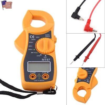 Digital Clamp Meter Multimeter Ac Dc Voltmeter Auto Range Voltohmamp Tester Us