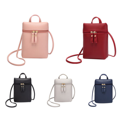 Women Mini Wallet Purse Leather Coin Cell Phone Bag Cross-bo