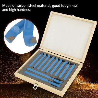 11 Pcs Carbide Tip Tipped Cutter Tool Bit Cutting Set Metal Lathe Tooling